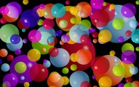 Colorful bubbles wallpaper 2560x1600 jpg