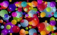 Colorful bubbles wallpaper 2560x1600 jpg