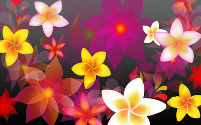 Colorful flowers [2] wallpaper