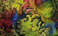 Colorful hands wallpaper 1920x1080 jpg