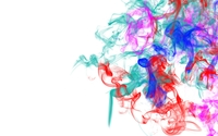 Colorful smoke mixing wallpaper 1920x1080 jpg