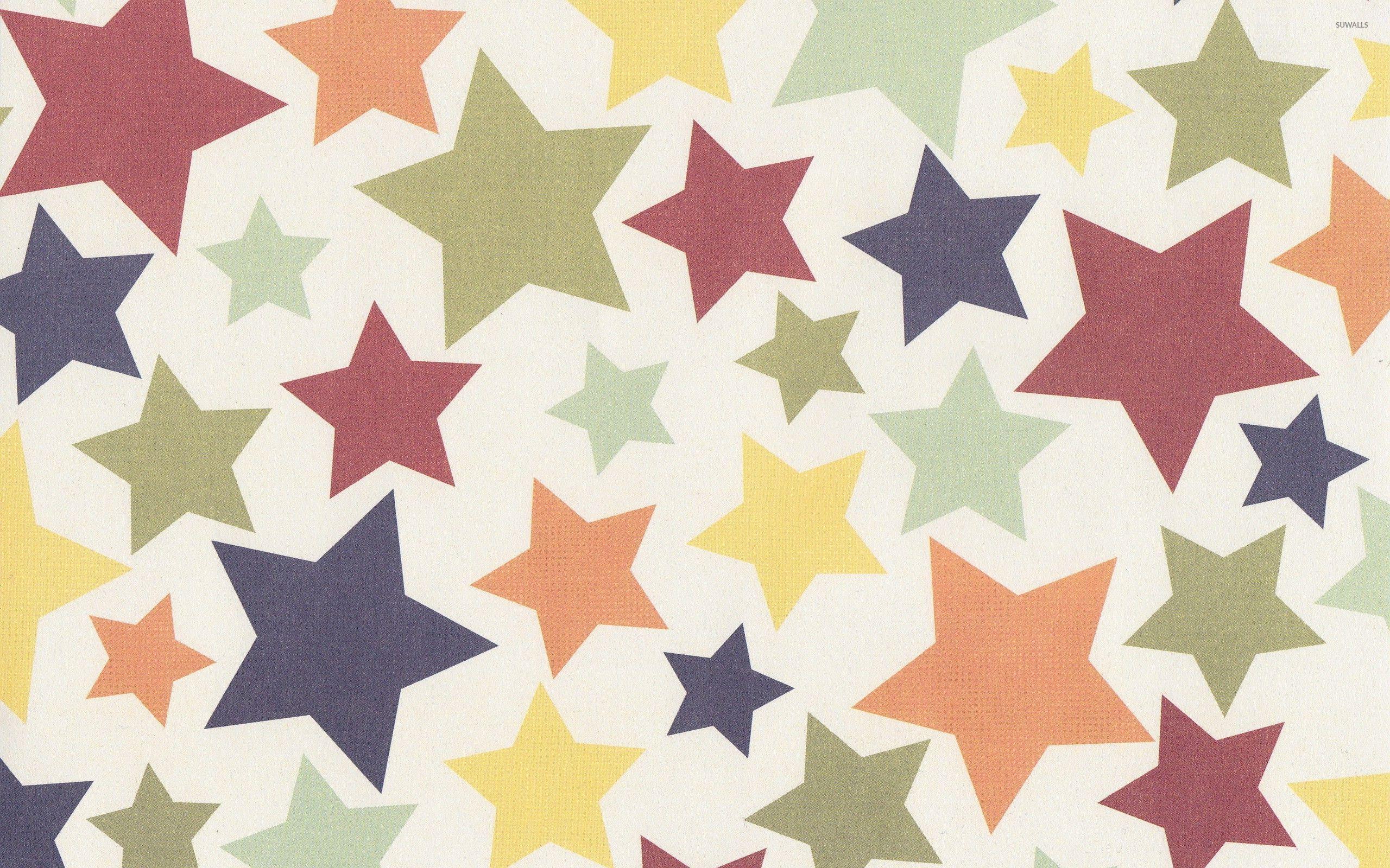 colorful stars wallpaper digital art wallpapers 22249