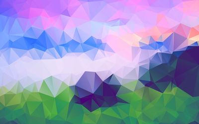 Colorful triangles [2] wallpaper