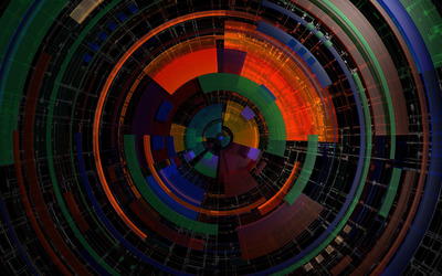 Colorful wheel Wallpaper