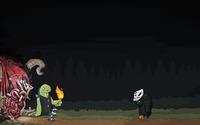 Creatures of the night wallpaper 2560x1440 jpg
