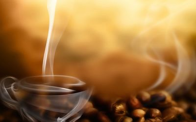 Cup of coffee wallpaper