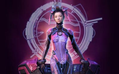 Cyborg girl [2] wallpaper