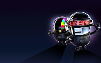 Daft Punk minion wallpaper