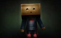 Danbo Superman wallpaper 1920x1200 jpg
