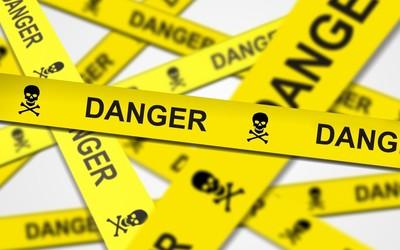 Danger tape Wallpaper