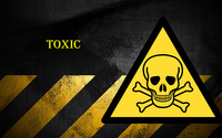 Danger toxic wallpaper 2560x1440 jpg