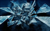 Dark scenes in the shattered glass wallpaper 1920x1200 jpg