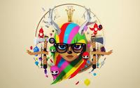 Deer hipster girl wallpaper 2560x1600 jpg