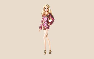 Disco Barbie wallpaper