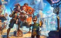 Fantasy world [2] wallpaper 2560x1600 jpg