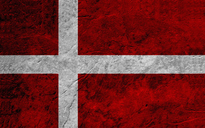 Flag of Denmark wallpaper