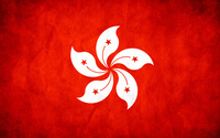 Flag of Hong Kong wallpaper 2560x1600 jpg