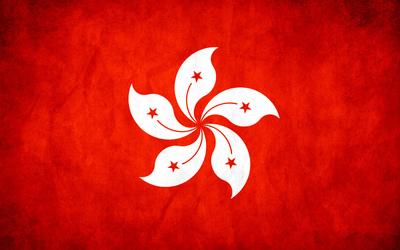Flag of Hong Kong Wallpaper