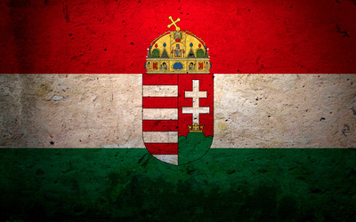 Flag of Hungary [2] wallpaper