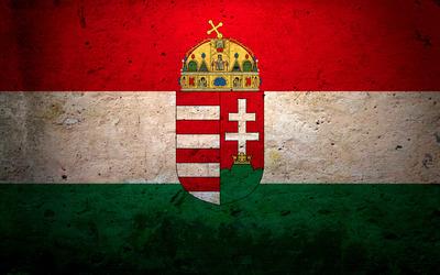 Flag of Hungary [2] Wallpaper