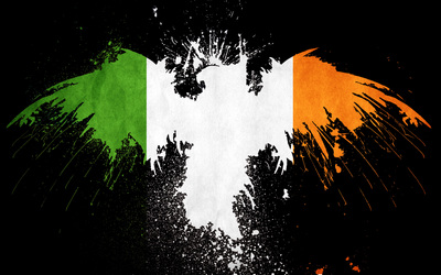 Flag of Ireland wallpaper