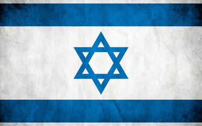 Flag of Israel wallpaper
