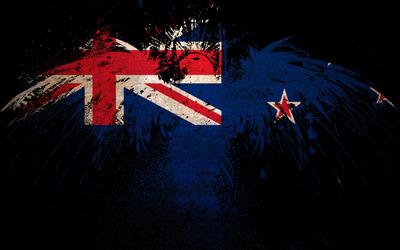 Flag of New Zealand wallpaper