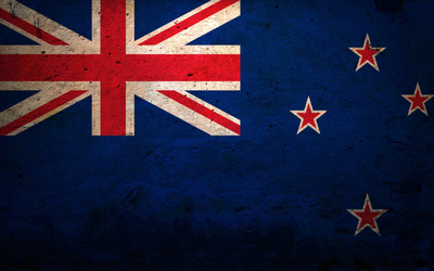 Flag of New Zealand [2] Wallpaper