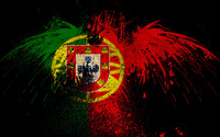 Flag of Portugal wallpaper 1920x1200 jpg