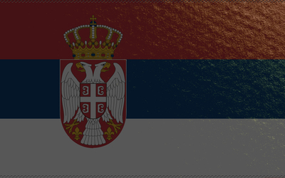 Flag of Serbia wallpaper