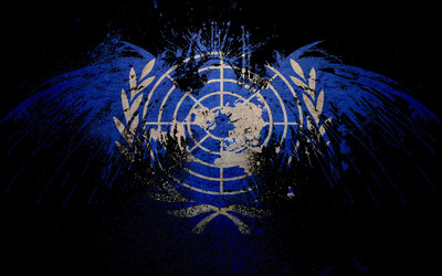 Flag of United Nations wallpaper
