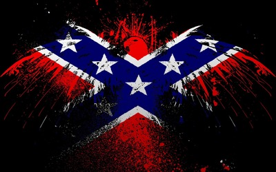 Flags of the Confederate States of America wallpaper