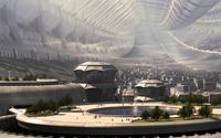 Futuristic city [14] wallpaper 1920x1200 jpg