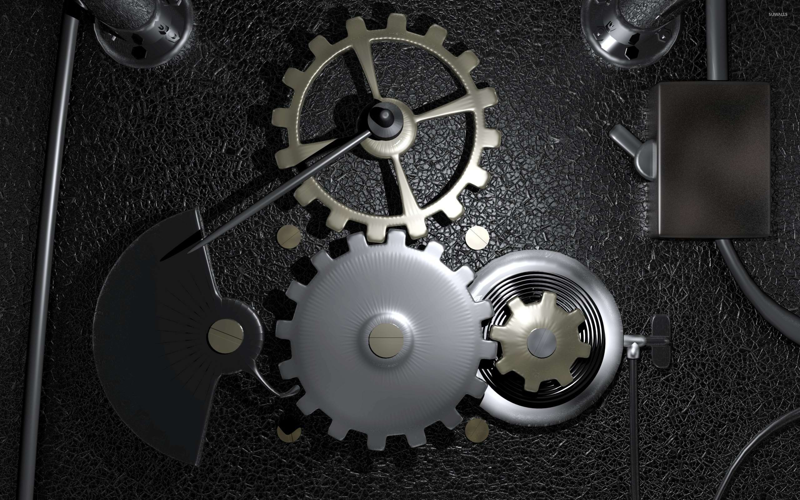 Gears in a machine wallpaper - Digital Art wallpapers - #23886