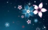 Glowing flowers [2] wallpaper 1920x1200 jpg