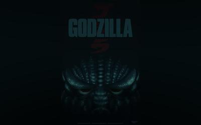 Godzilla poster wallpaper