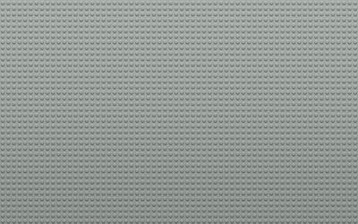 Gray Lego board wallpaper