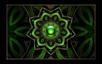 Green floral pendant wallpaper 1920x1200 jpg