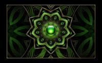 Green floral pendant wallpaper 1920x1200 jpg