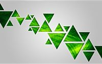 Green triangles wallpaper 1920x1080 jpg