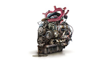 Heart engine wallpaper 1920x1200 jpg
