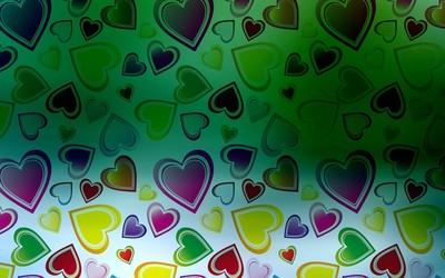 Heart pattern [4] wallpaper