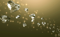 Heart shaped diamonds wallpaper 1920x1080 jpg