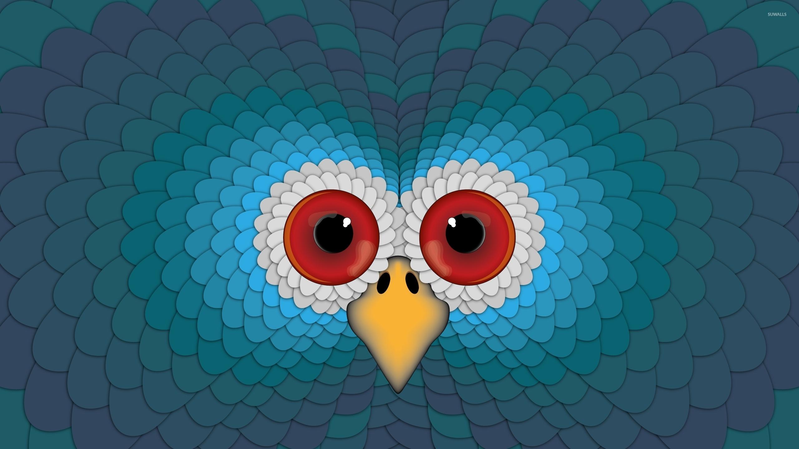 Hypnotic Eyes Of A Turkey Wallpaper