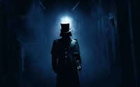 Jack the Ripper on a dark London street wallpaper 1920x1200 jpg