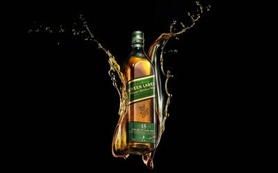 Johnnie Walker bottle wallpaper