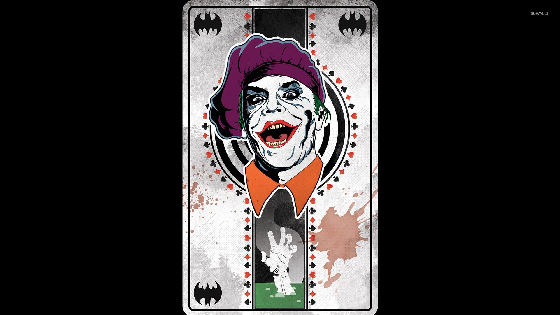 joker cartoon card wallpaper - photo #19