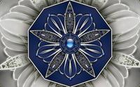 Metallic floral pendant wallpaper 1920x1080 jpg