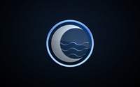 Moon logo wallpaper 1920x1200 jpg