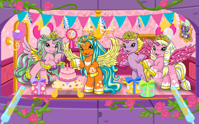 My Filly World Princesses wallpaper
